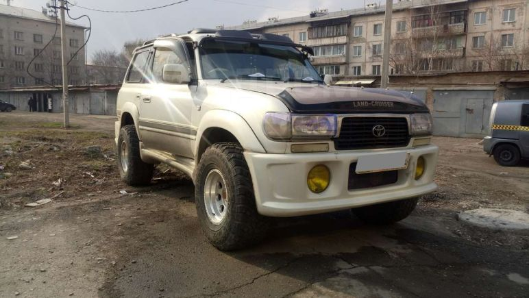 Toyota Land Cruiser, 1994 год, 600 000 руб.