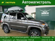 УАЗ Patriot, 2017 г., Барнаул
