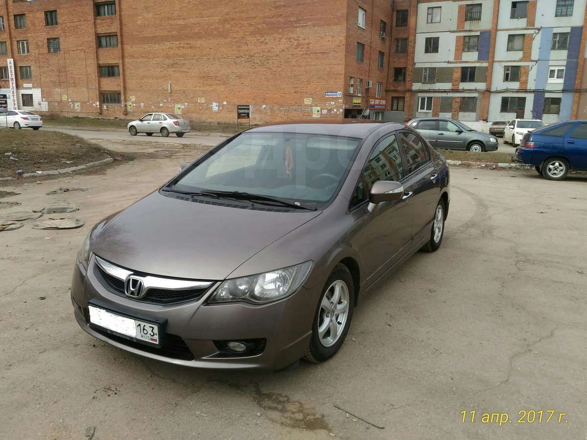honda civic 5d 2009 гибрид