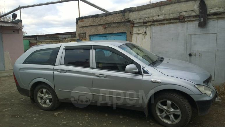 SsangYong Actyon Sports, 2008 год, 385 000 руб.