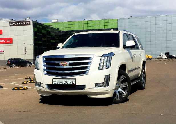 Cadillac Escalade, 2015 год, 3 880 000 руб.