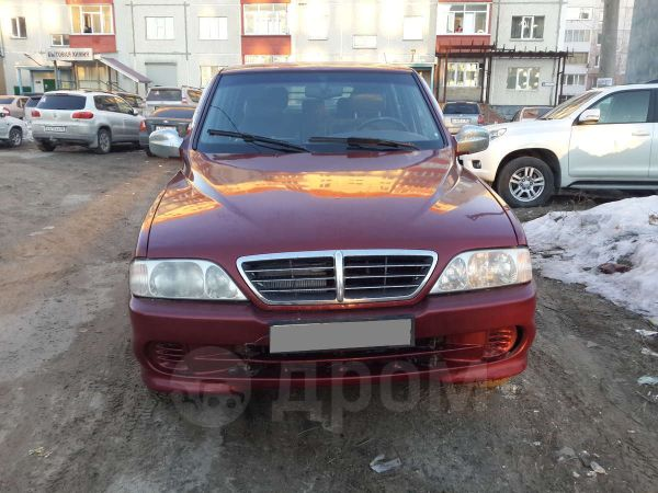 SsangYong Musso Sports, 2004 год, 280 000 руб.