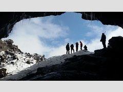 Большая ледниковая пещера