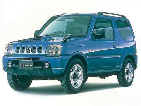 Mazda AZ-Offroad (JM) 10.1998 - 12.2001