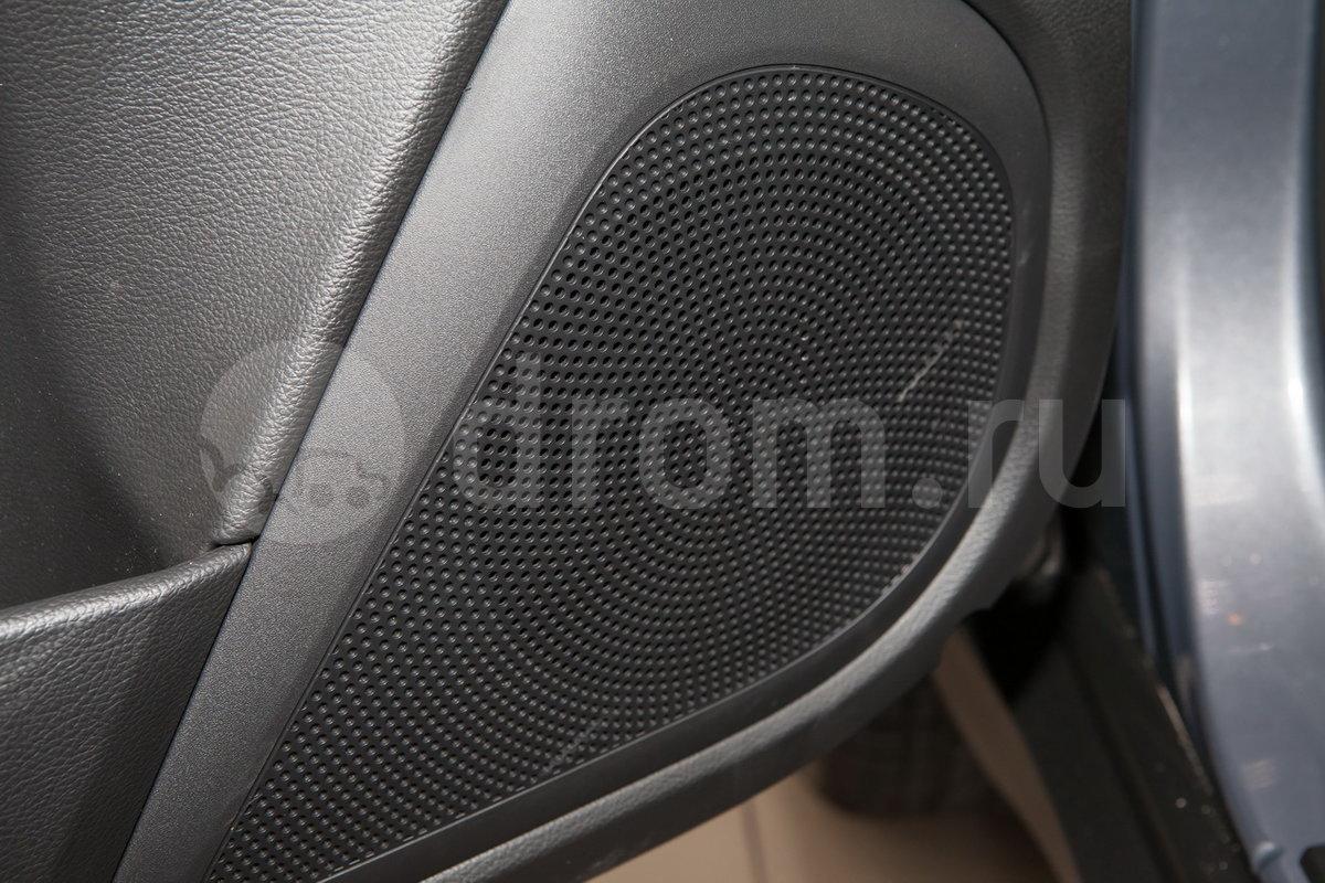 Дополнительное оборудование аудиосистемы: Аудиоподготовка (6 динамиков, антенна), AUX, USB
