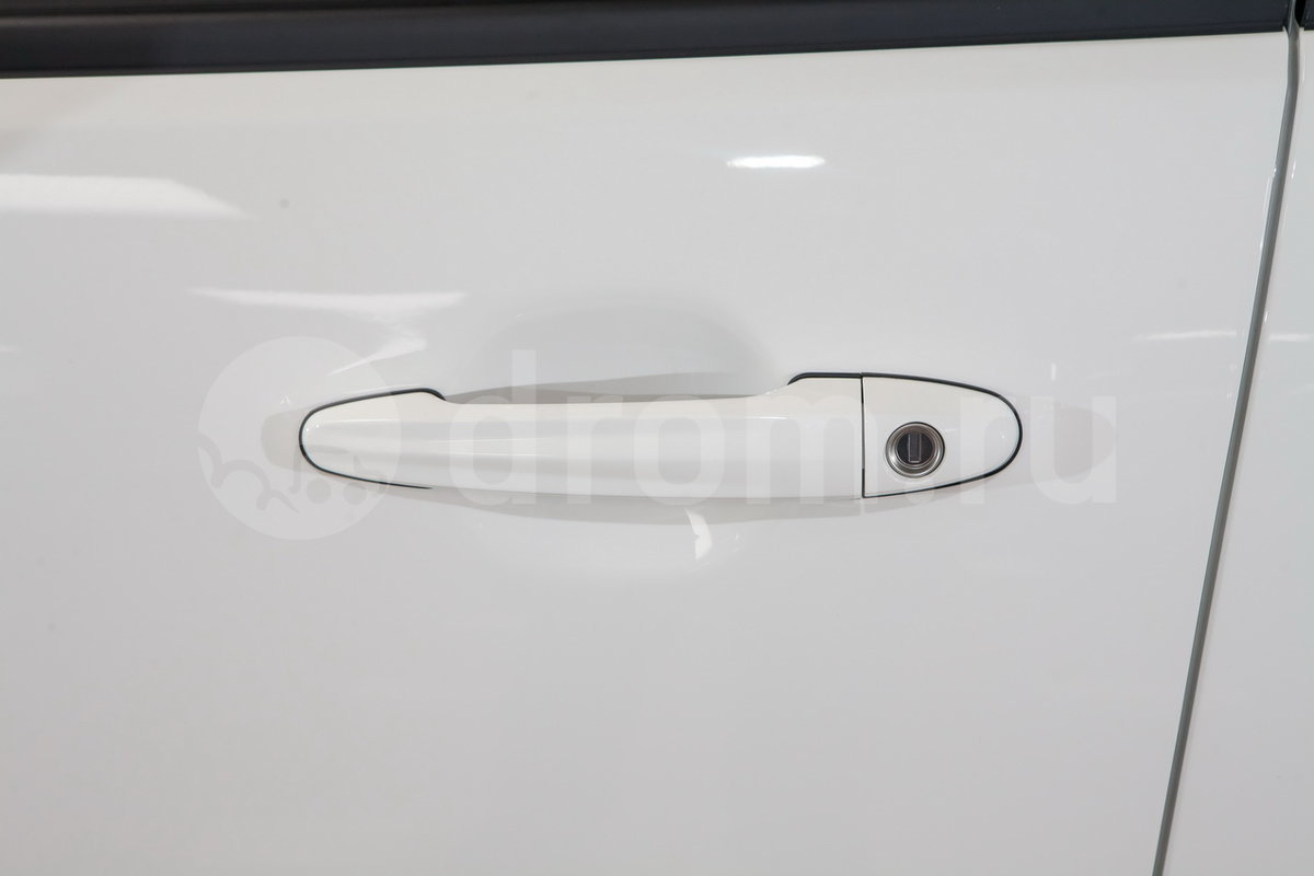 Ручки дверей в цвет кузова: да
