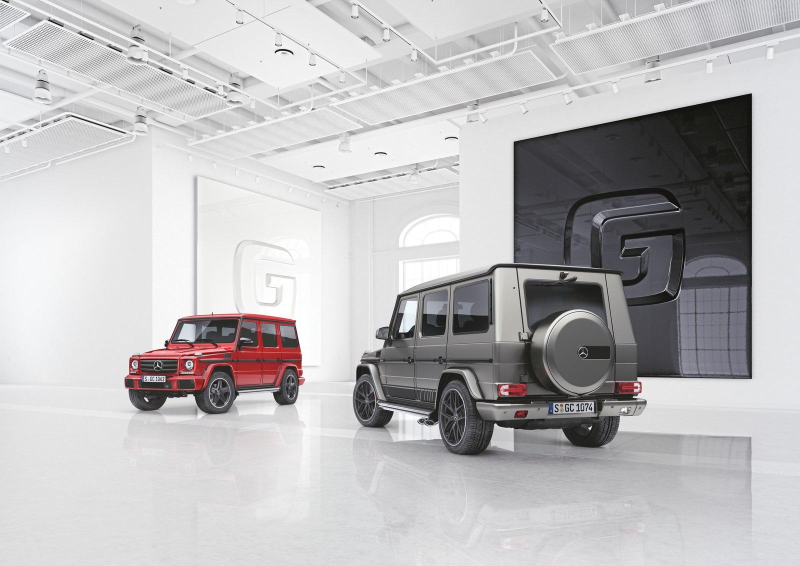 Новые спецверсии Mercedes-Benz G-Class