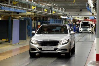 Завод Mercedes-Benz в Подмосковье должен начать работу в 2019 году.