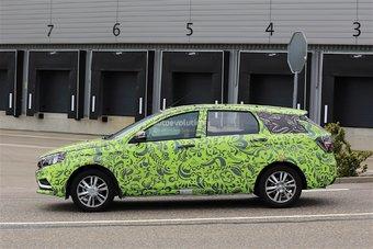 Не исключено, что Lada Vesta SW проходит в Германии сертификацию по правилам Евросоюза.