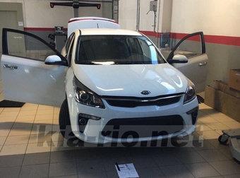 Производство товарных экземпляров нового Kia Rio в Санкт-Петербурге стартует в августе.