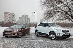 Сравнительный тест Kia cee'd SW и Hyundai Creta. Классики и современники - «Автоновости»