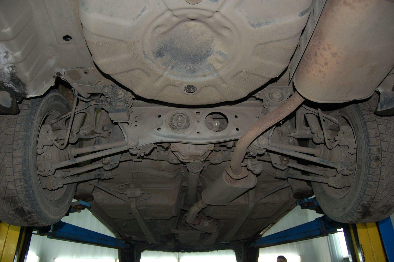 задняя подвеска Toyota Марк 2