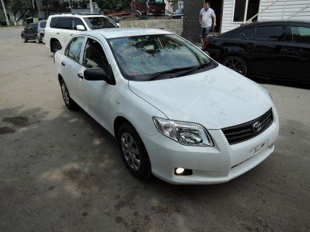 Toyota Corolla Axio 2012 - отзыв владельца