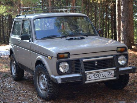 Лада 4x4 2121 Нива 1986 - отзыв владельца