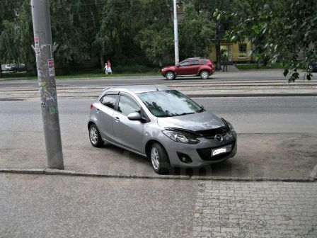 Mazda Demio 2012 - отзыв владельца