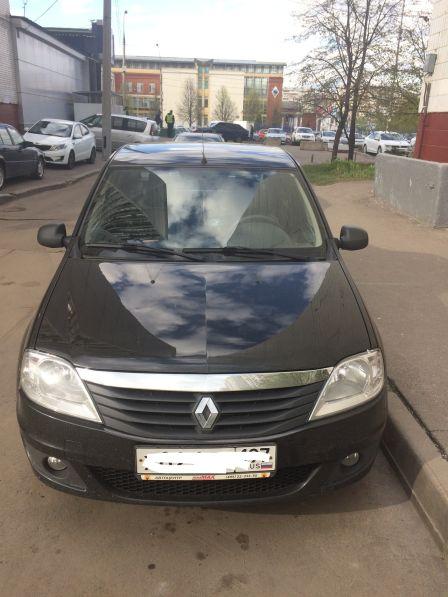 Renault Logan 2011 - отзыв владельца