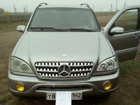 Mercedes-Benz M-Class 2001 - отзыв владельца