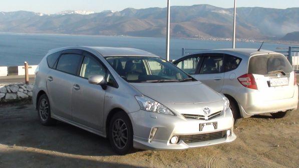 Toyota Prius a 2012 - отзыв владельца