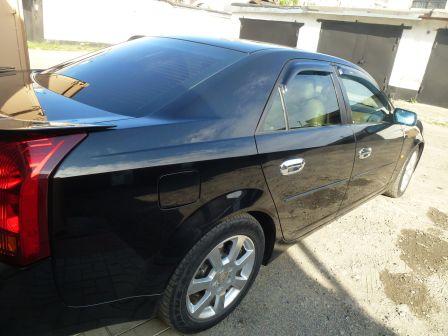 Cadillac CTS 2007 - отзыв владельца