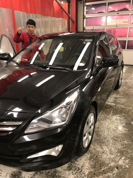 Hyundai Solaris 2015 - отзыв владельца