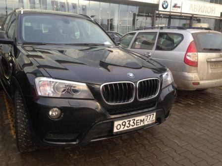BMW X3 2014 - отзыв владельца