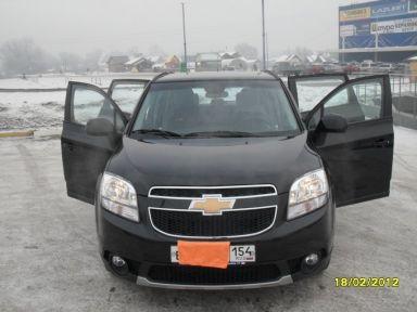 Chevrolet Orlando 2011 отзыв автора | Дата публикации 01.11.2014.