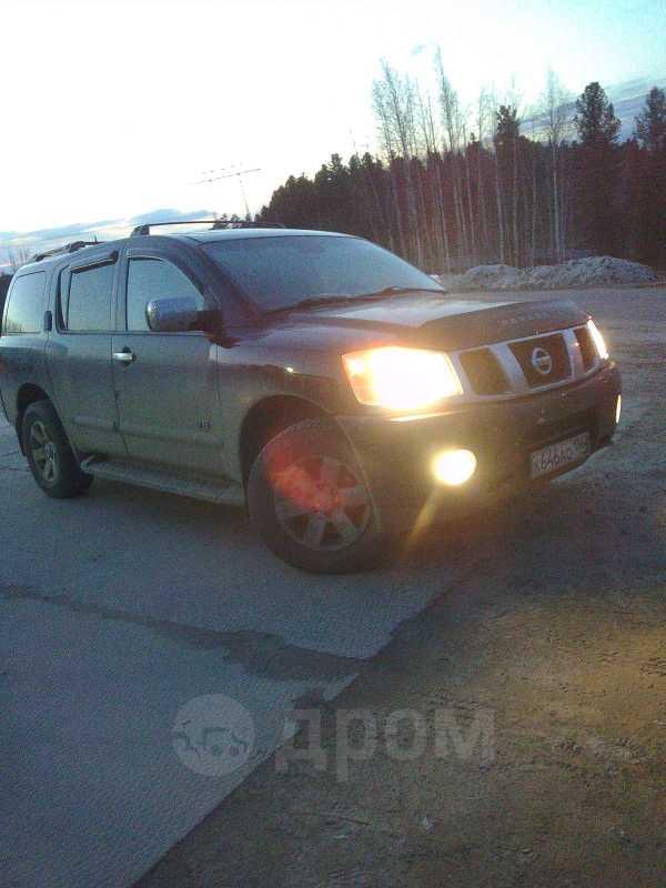 Nissan Armada, 2005 год, 750 000 руб.
