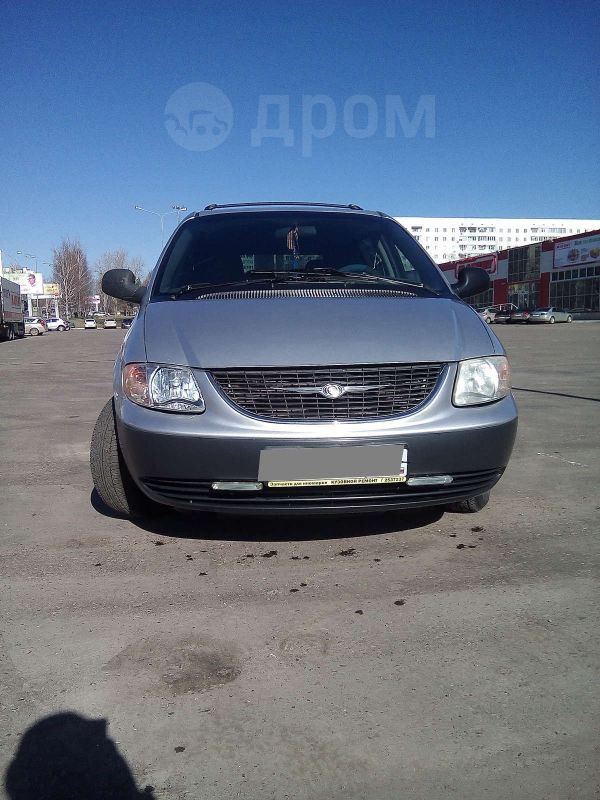 Chrysler Voyager, 2001 год, 265 000 руб.