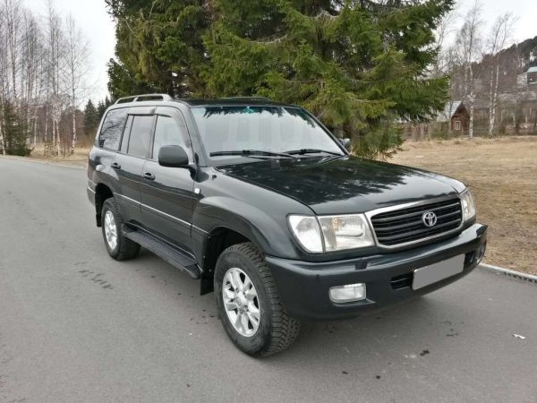 Toyota Land Cruiser, 2001 год, 965 000 руб.