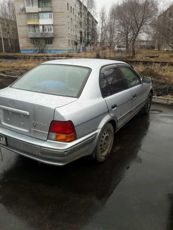 Toyota Corsa, 1998 год, 125 000 руб.