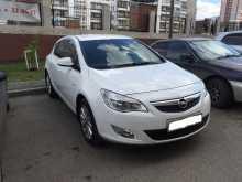 Opel Astra, 2012 г., Томск