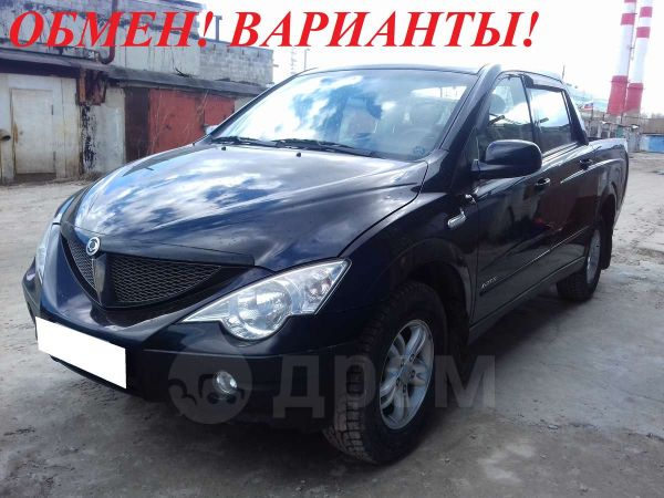 SsangYong Actyon Sports, 2010 год, 600 000 руб.