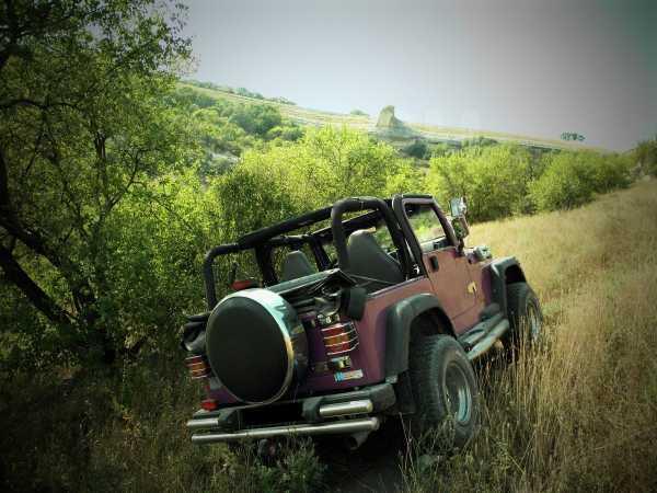 Jeep Wrangler, 1997 год, 750 000 руб.