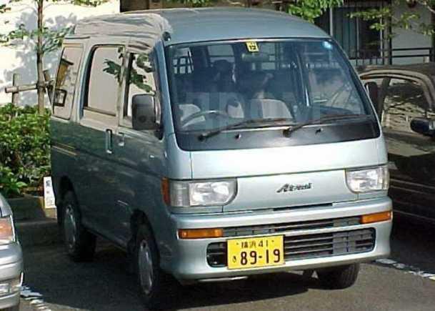 Daihatsu Atrai, 1990 год, 100 000 руб.