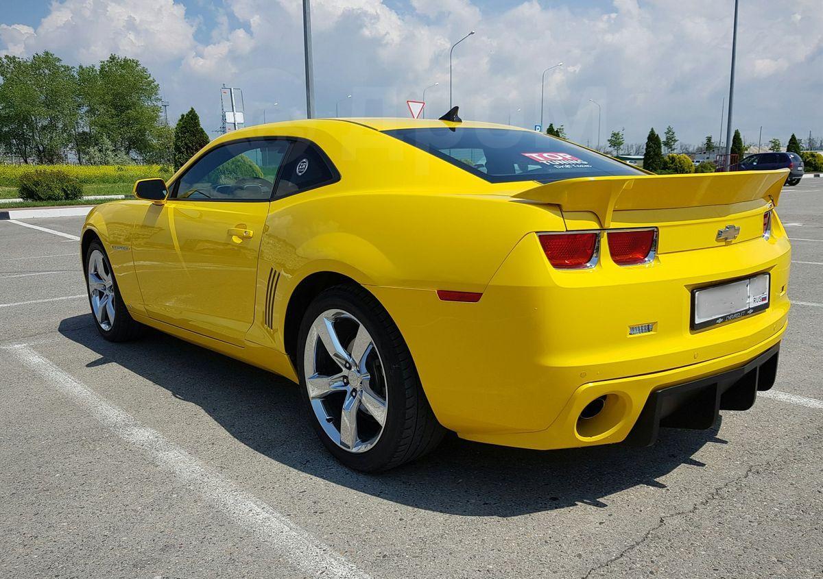 камаро желтый фото