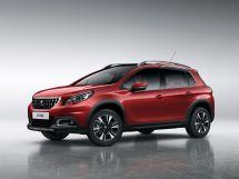 Peugeot 2008 рестайлинг 2016, suv, 1 поколение