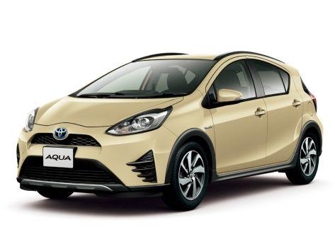 Toyota Aqua (P10) 06.2017 -  н.в.
