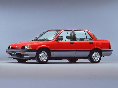Honda Ballade 1983 - 1986