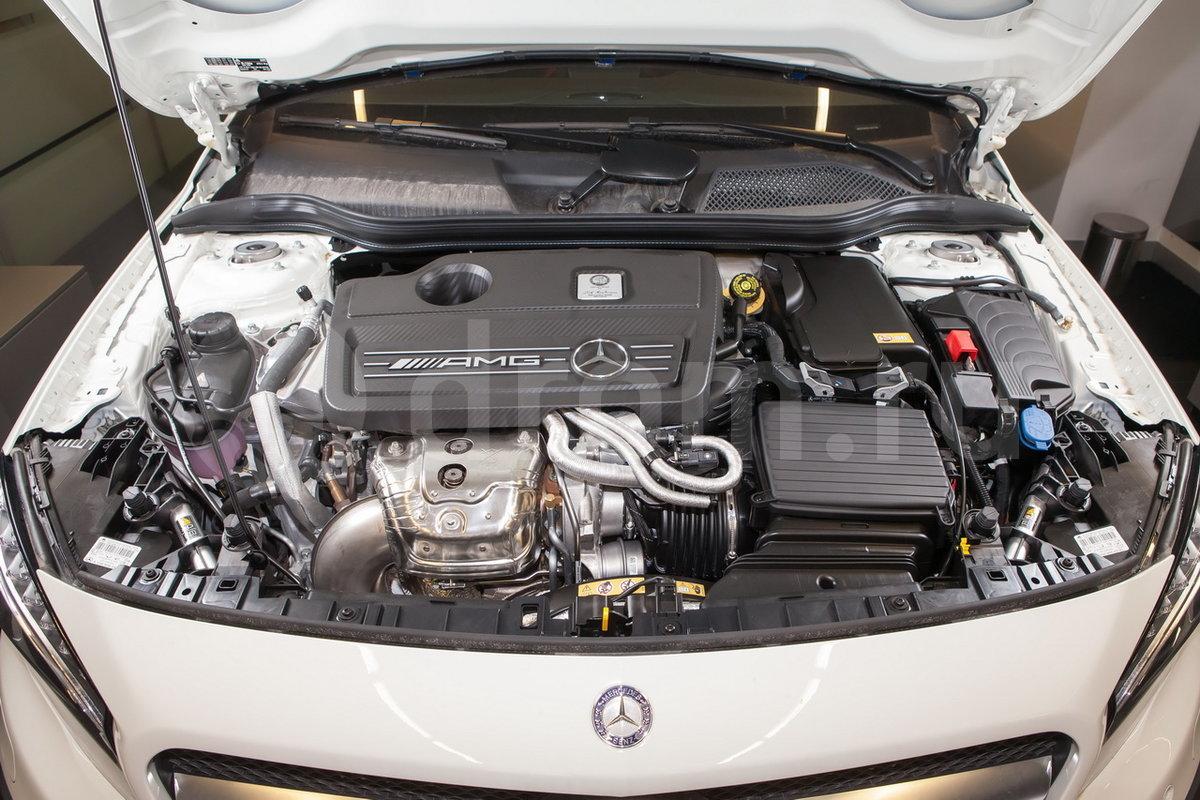 ... Двигатель M 133 DE 20 AL в Mercedes-Benz GLA-Class рестайлинг 2017,