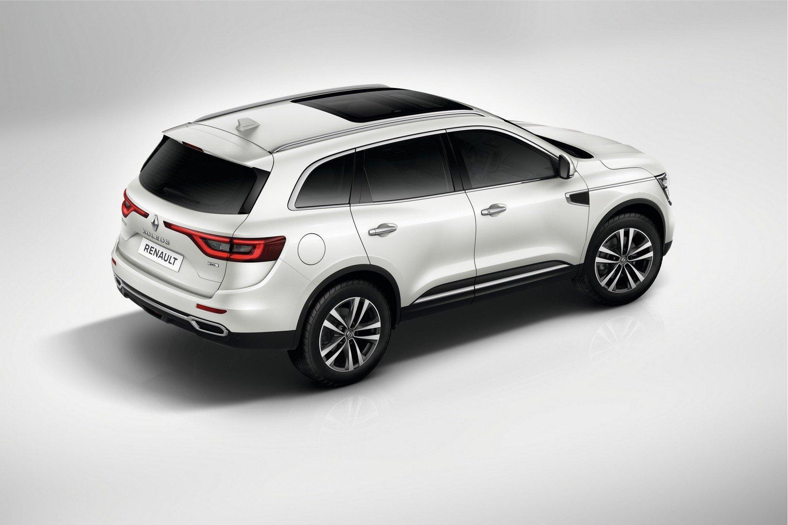 новый Renault Koleos будет стоить от 169 млн рублей