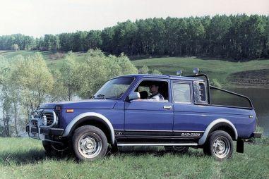 Lada Logo — под таким именем будет продаваться пикап Lada 4x4