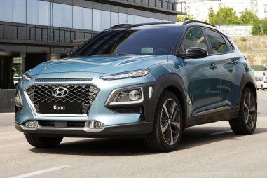 Hyundai распространил первую информацию о кроссовере Kona