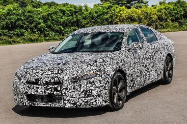 У следующего поколения Honda Accord будет турбированная «четверка» вместо V6