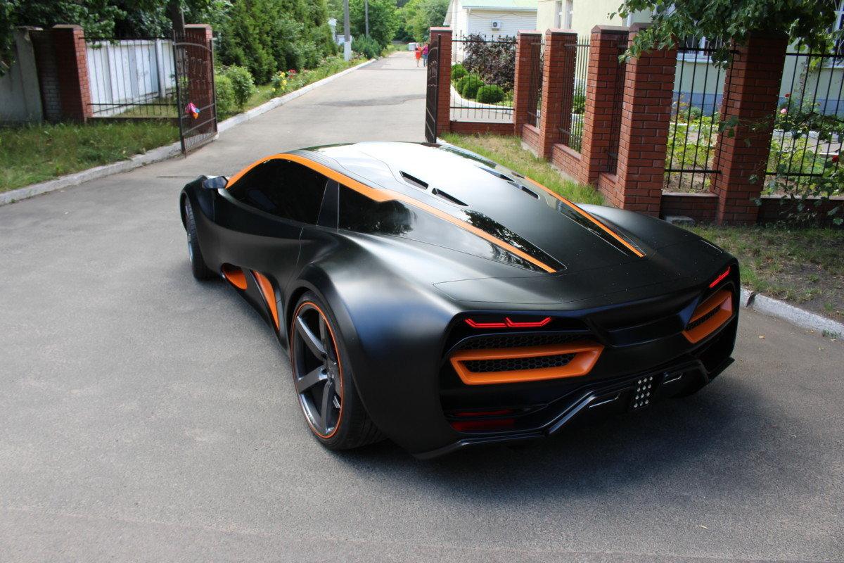 макет supercar chevrolet