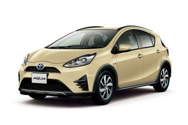 Toyota обновила модель Aqua. Теперь это еще и кроссовер