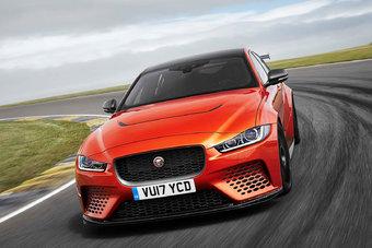 Всего будет собрано 300 экземпляров Jaguar XE SV Project 8.