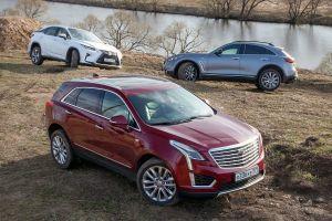 Сравнительный тест кроссоверов Infiniti QX70S, Cadillac XT5 и Lexus RX350. Старик и двое