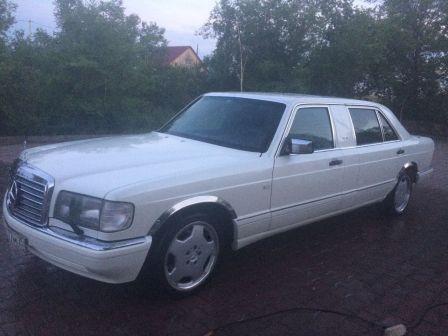Mercedes-Benz S-Class 1989 - отзыв владельца