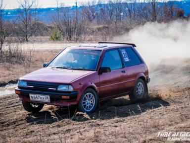 Toyota Starlet 1986 отзыв автора | Дата публикации 19.02.2017.