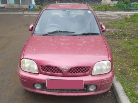 Nissan March 2001 - отзыв владельца